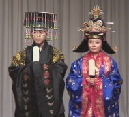 Korean Traditional Fashion Show - King and Queen